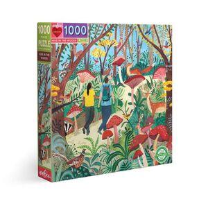 PUZZLE TREKKING EN EL BOSQUE 1000