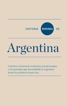 HISTORIA MINIMA DE ARGENTINA