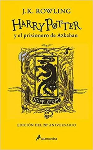 HARRY POTTER Y EL PRISIONERO DE AZKABAN (AMARILLO)