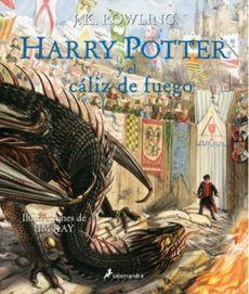HARRY POTTER Y EL CALIZ DE FUEGO (EDIC. ILUSTRADA)