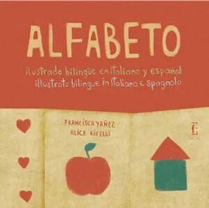 ALFABETO ILUSTRADO BILINGÜE ITALIANO Y ESPAÑOL